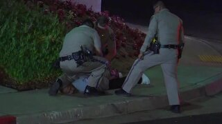 High-speed chase ends in arrest in Solana Beach
