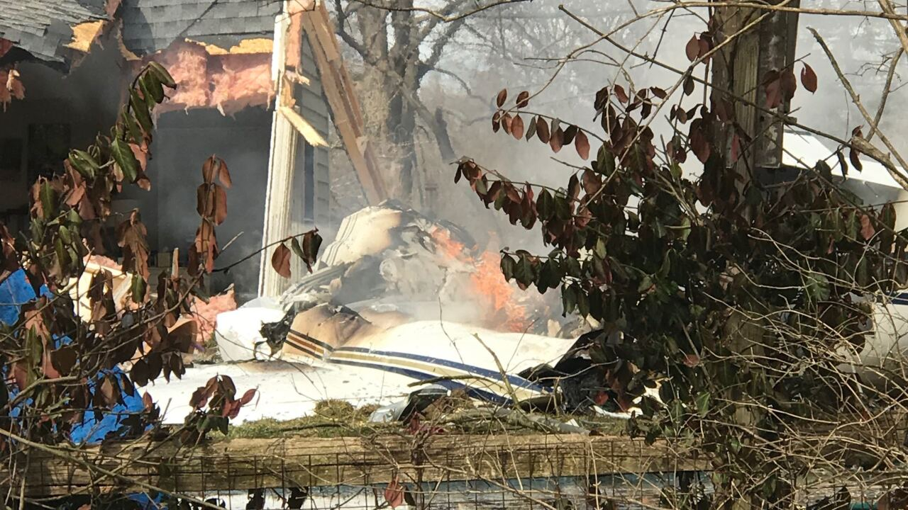 First a bang, then a fire: Plane crashes into Madeira home, killing