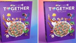 Kellogg's Releasing Glittery Heart-Shaped Cereal For Pride This Year