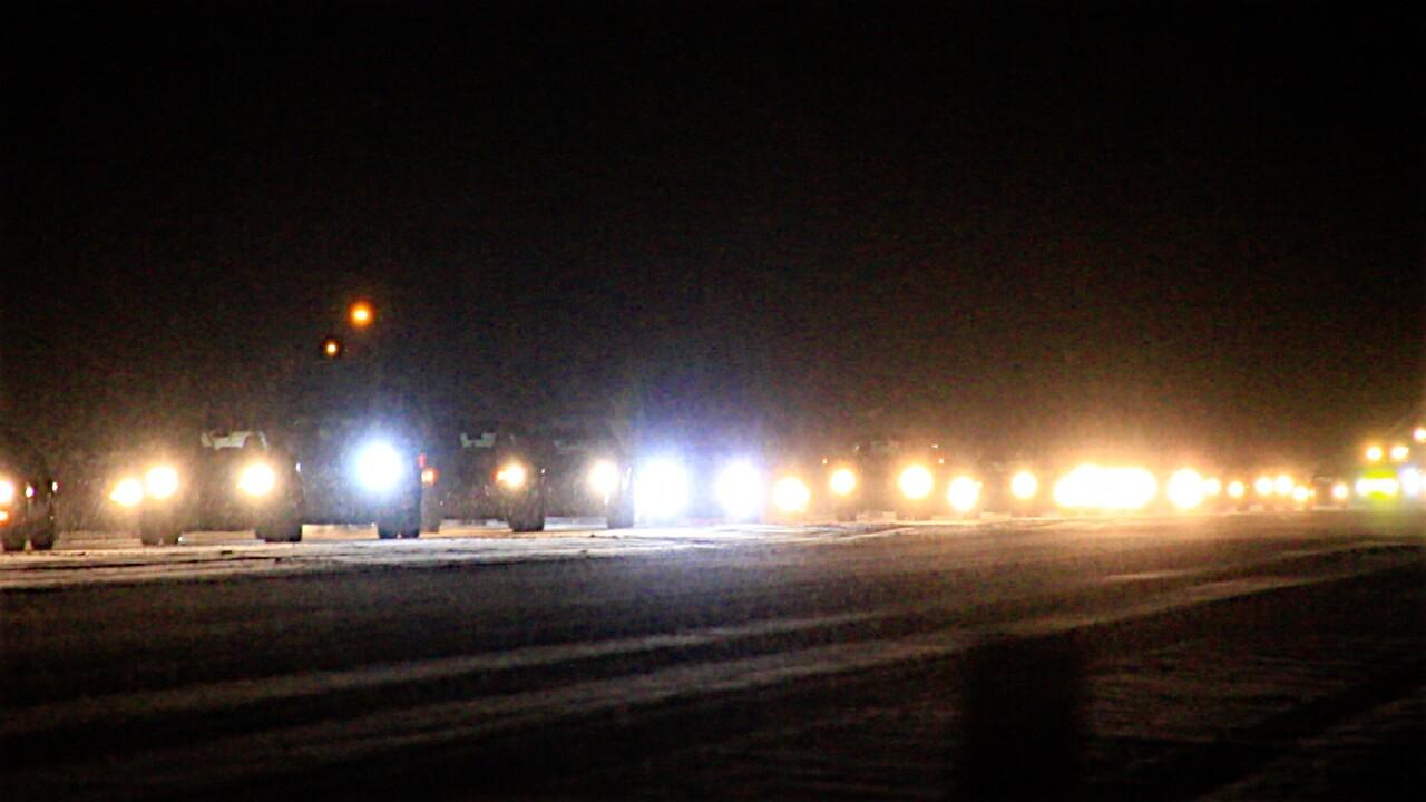 Snow slows Missoula commute