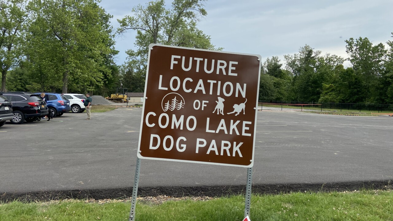 Como Lake Dog Park set to open 'in a few weeks'