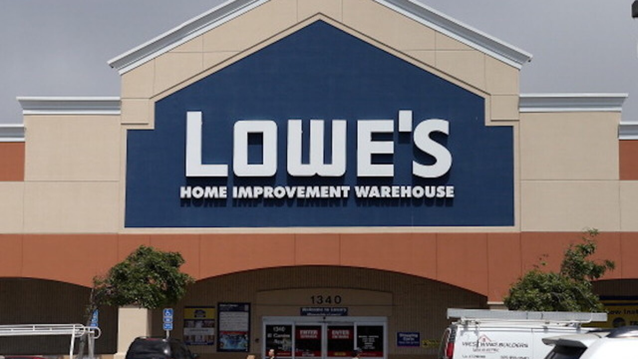 Snake bites customer at home improvement store