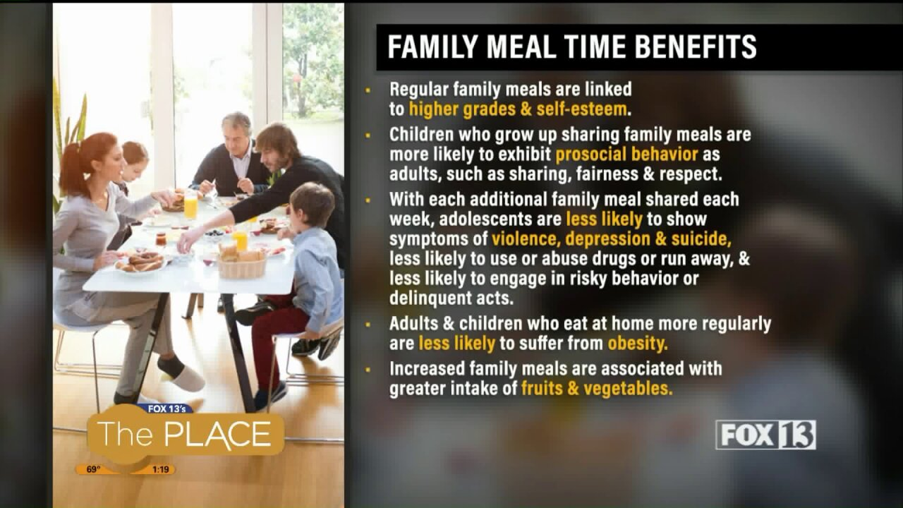 September is National Family Meals Month. Here's how to make it happen!