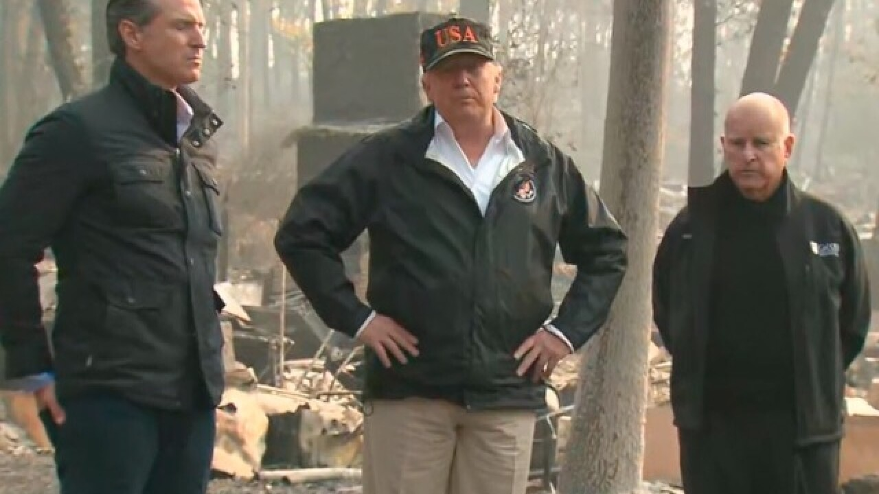 Trump to visit CA as Camp Fire death toll rises