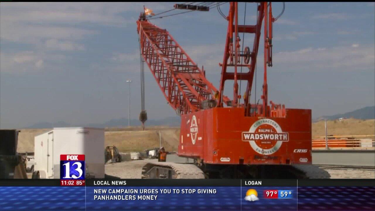 Closure of SR-201 at I-215 begins Fridaynight