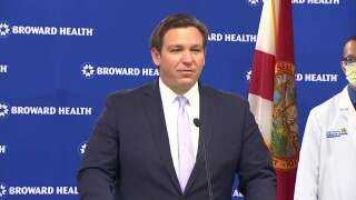 Florida Gov. Ron DeSantis to give 11:30 a.m. coronavirus update in Fort Lauderdale