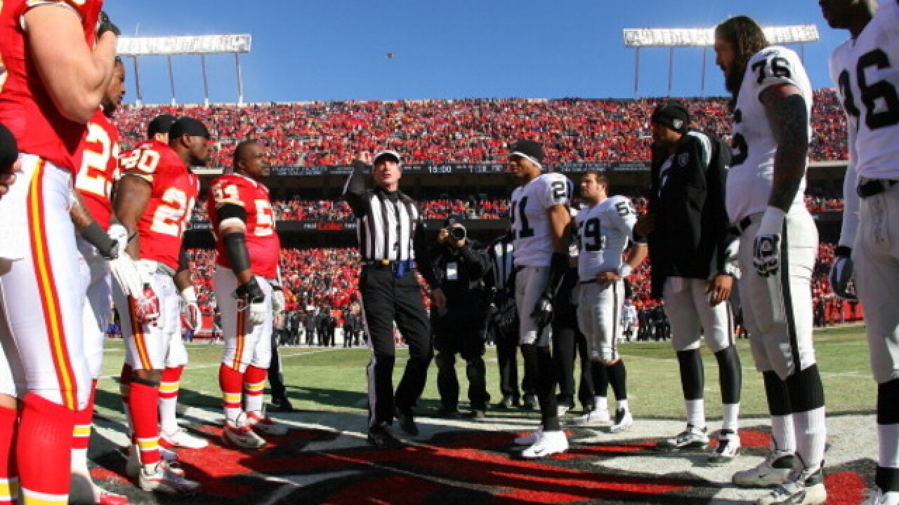 Chiefs are undefeated in the coin toss, 9-0