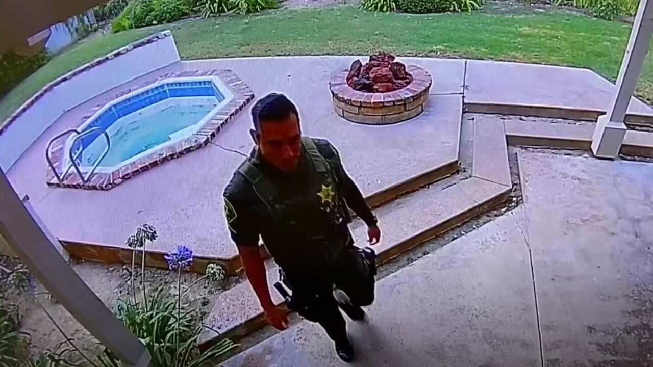 Deputy caught on camera burglarizing home where he previously responded to death