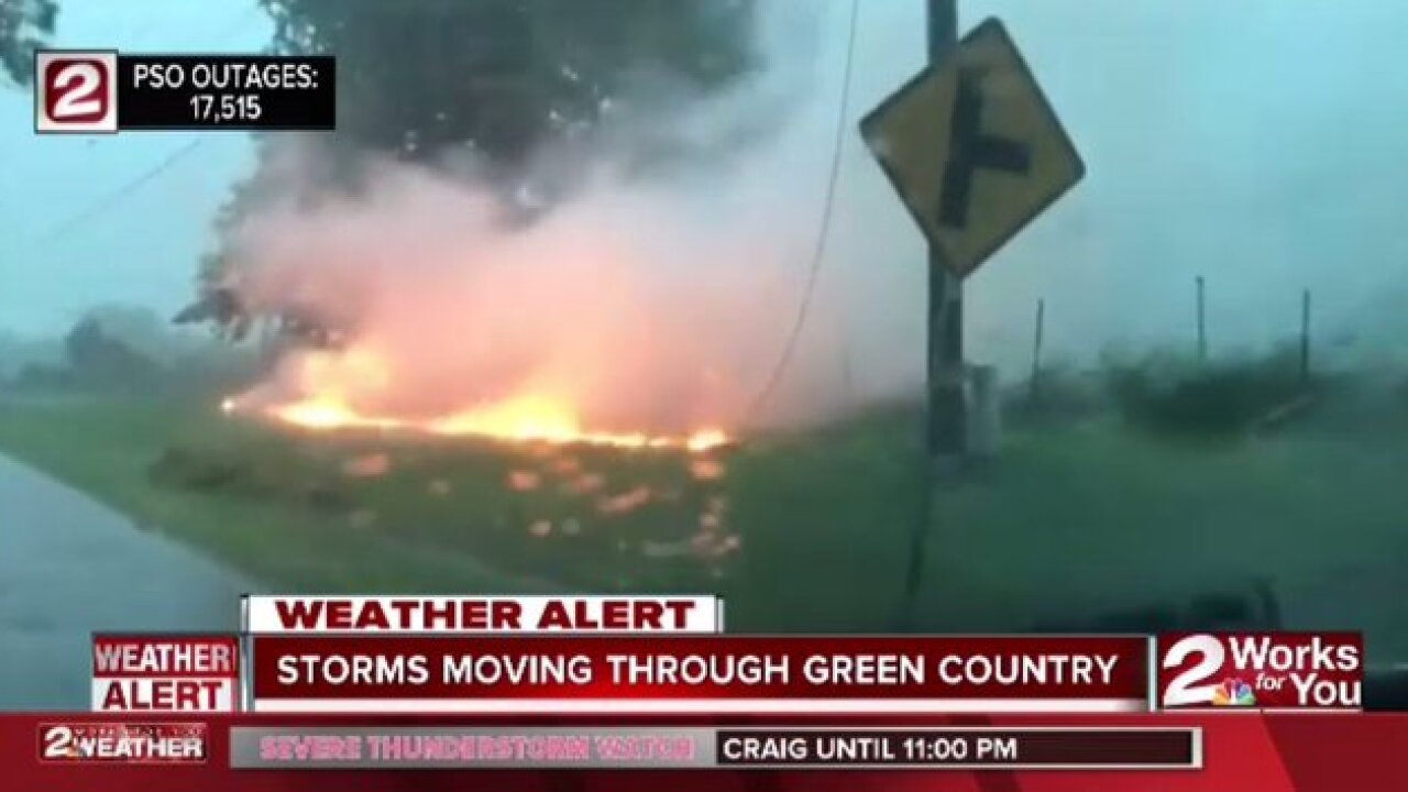 LIVE: Tracking storms in Green Country