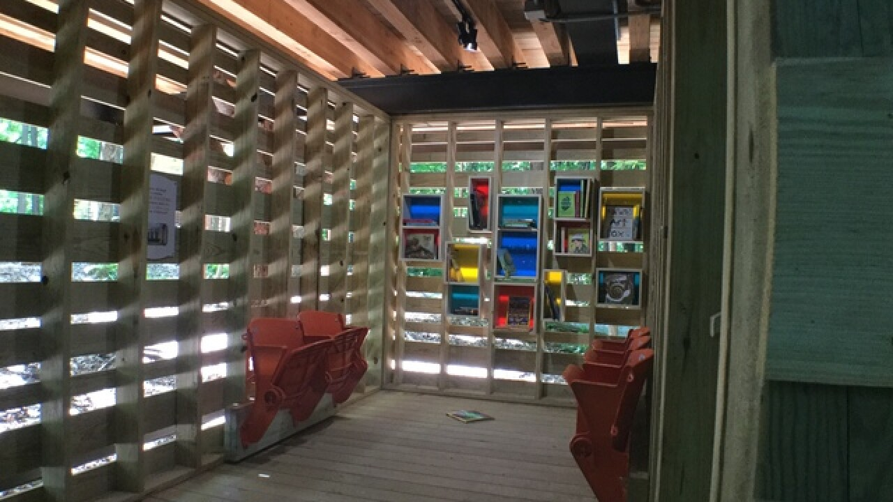 Sneak peek at Conner Prairie's giant treehouse