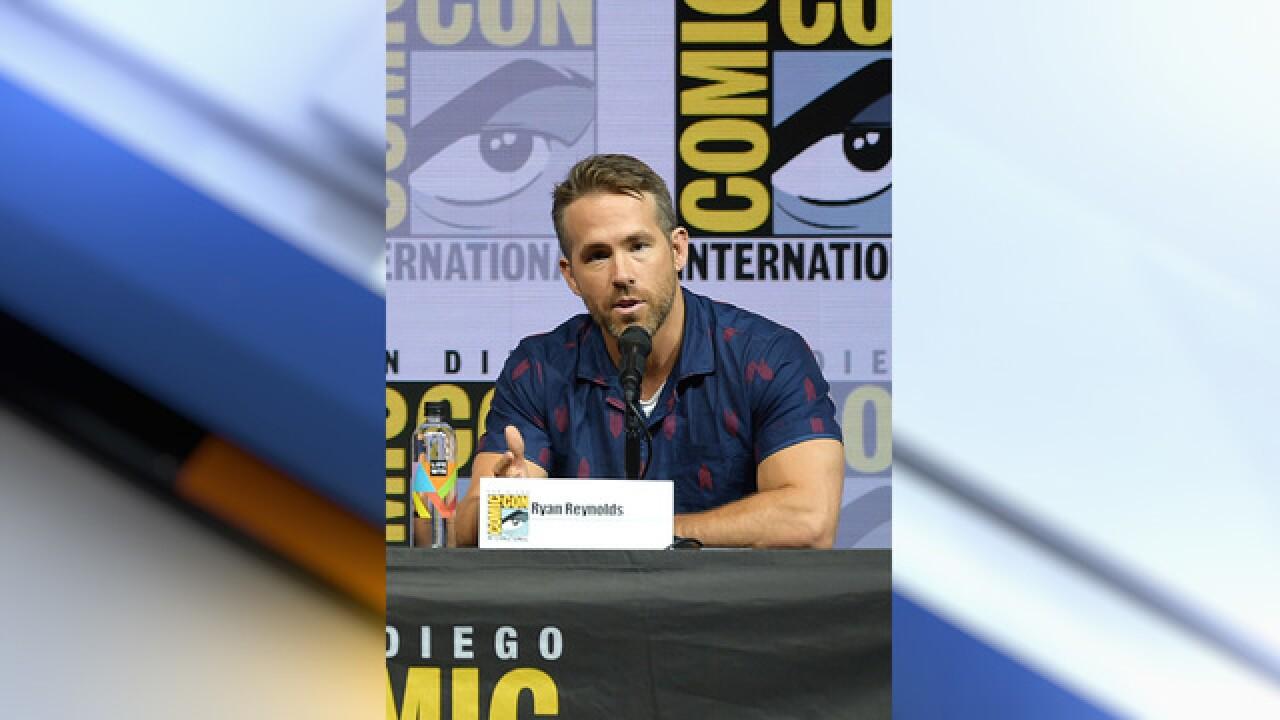 Ryan Reynolds back at Comic-Con for 'Deadpool 2'