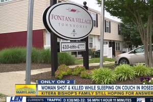 Young mother shot more than 20 times while sleeping on her couch
