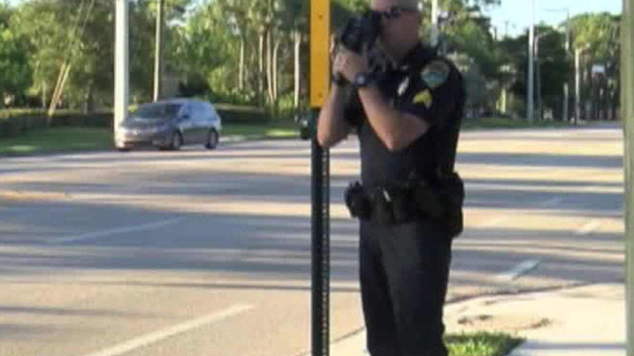 Boynton Beach police write multiple tickets for speeding in a school zone