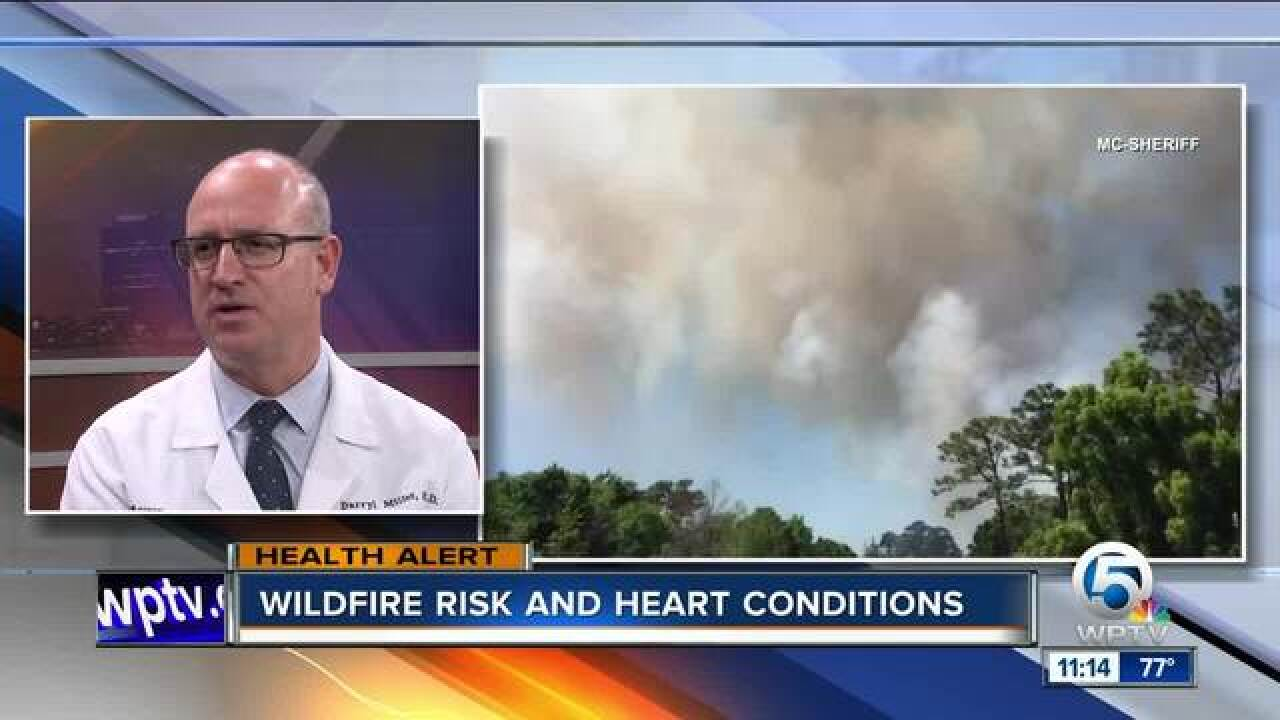 Dangerous side effects of wildfires