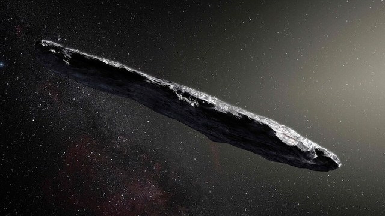 Scientists say mysterious object may be alien spacecraft