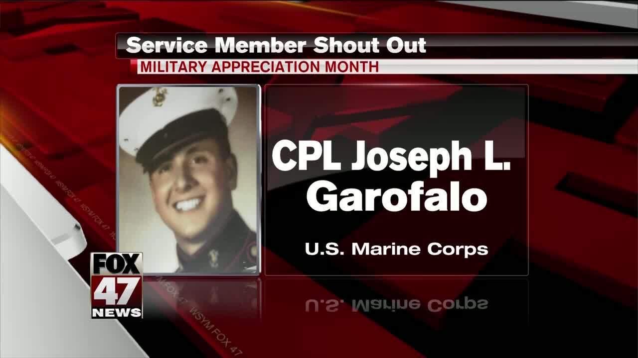 Corporal Joseph L. Garofalo