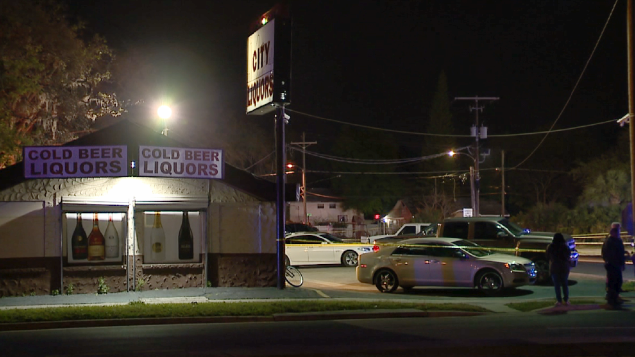 deadly shooting at City Liquors