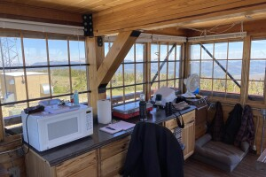 Stonewall Mountain Lookout Interior