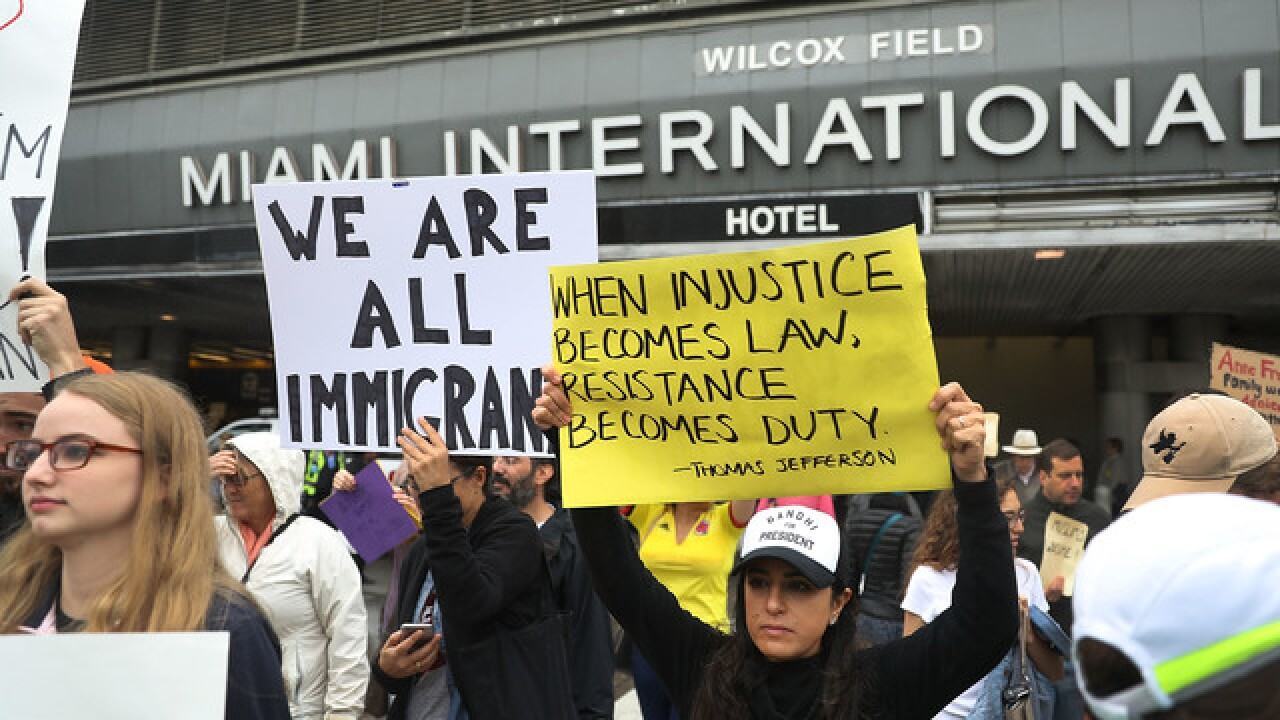 PHOTOS: Nationwide protests over immigration ban