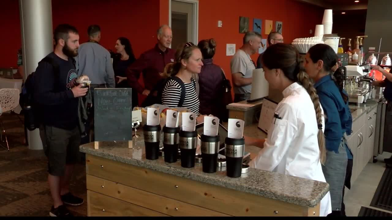 New Missoula College coffee shop honors famous resident osprey