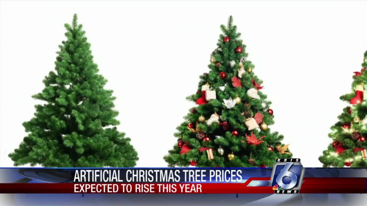 Artificial Christmas tree prices set to rise
