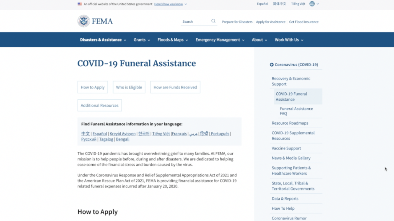FEMA funds