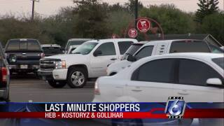 A few stores will be open today across the Coastal Bend