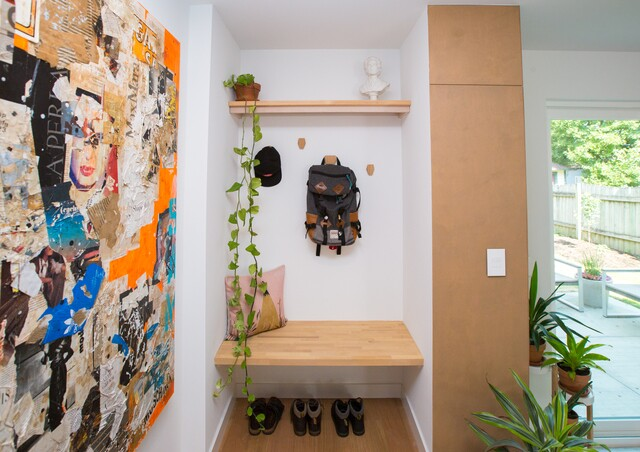 HOME TOUR PHOTOS: The Slant House on Orange Street is a lesson in efficiency and connected living