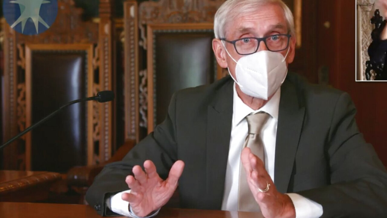 Gov. Tony Evers issues new state of emergency, extends mask mandate until 2021