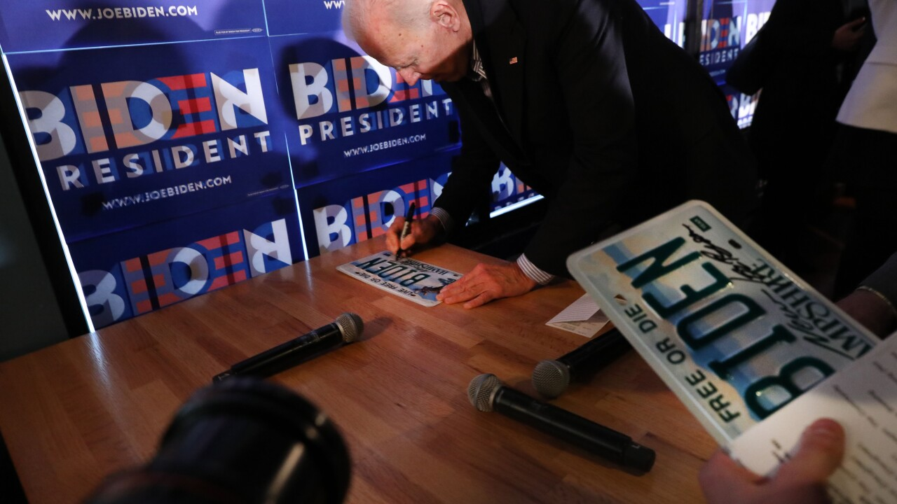 Biden campaigns North and shows strength South