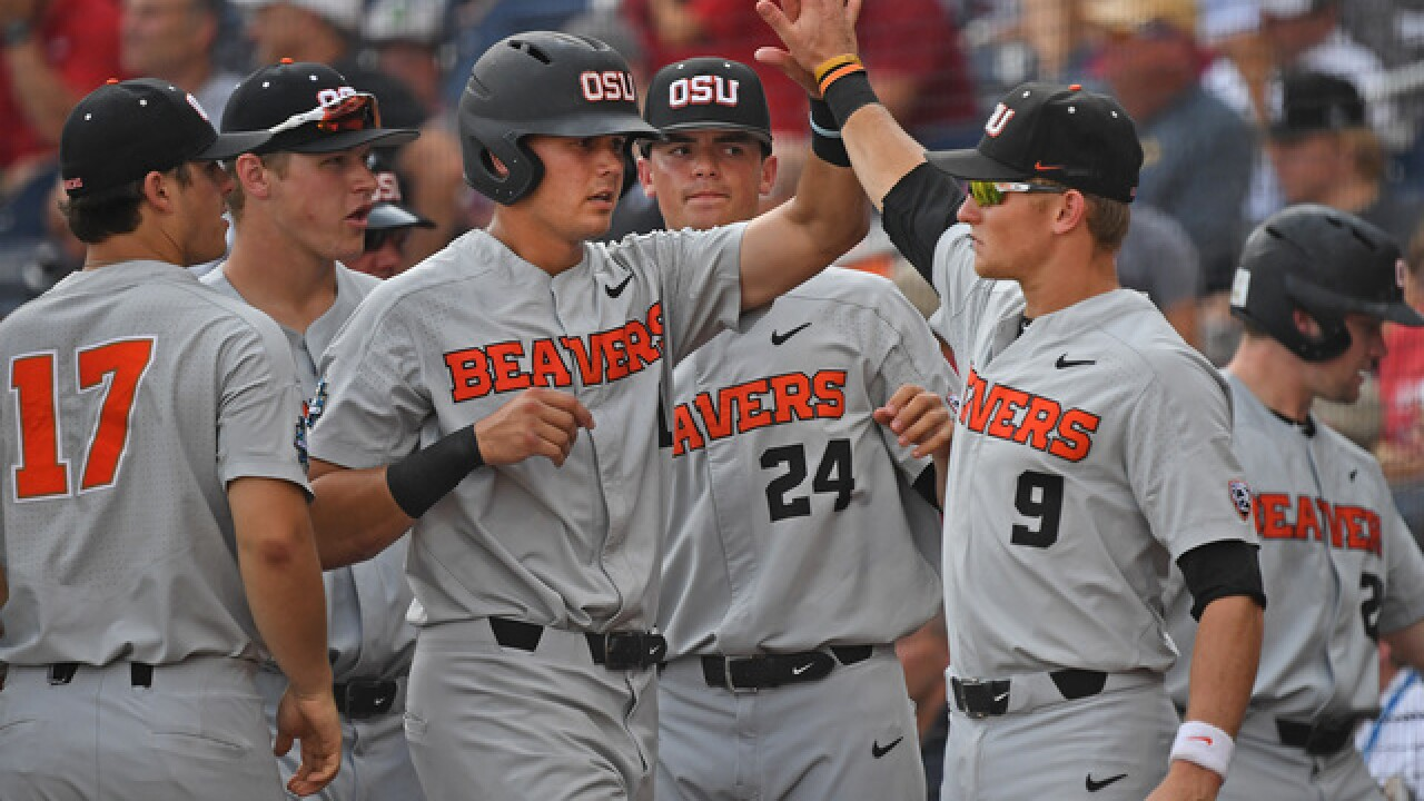 Oregon State wins College World Series, beating Arkansas