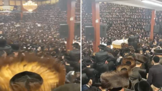 Brooklyn Satmar Torah Party