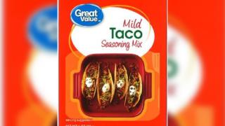 Walmart brand taco mix recalled over possible salmonella contamination