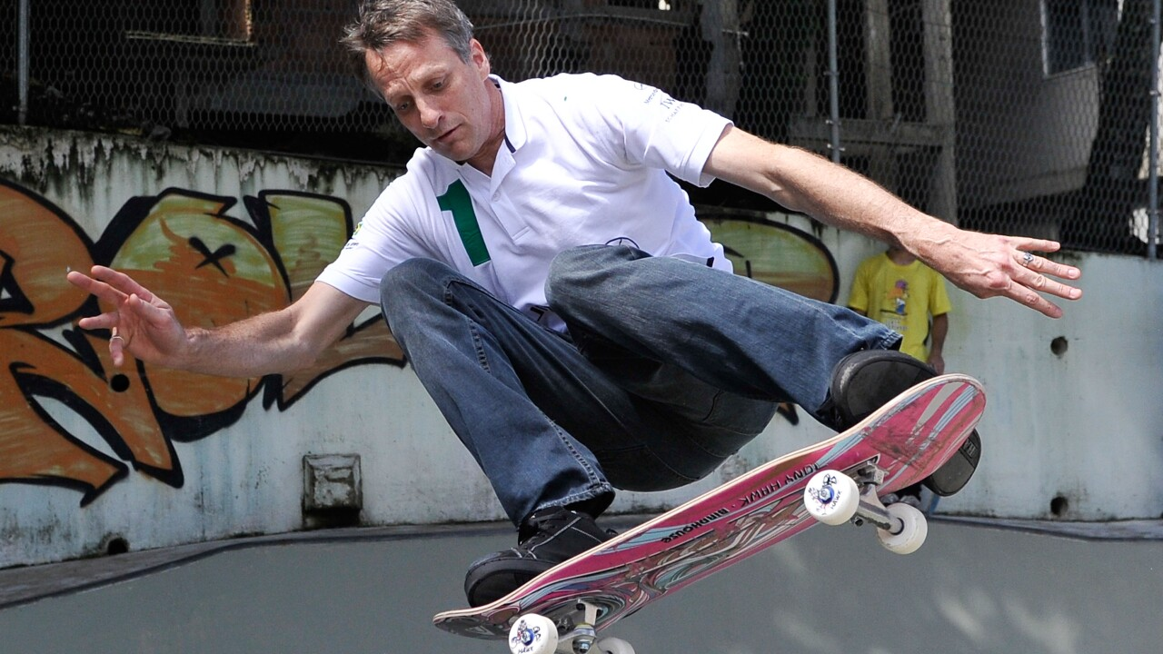 Tony Hawk _ Laureus Visit To Rocinha - 2013 Laureus World Sports Awards