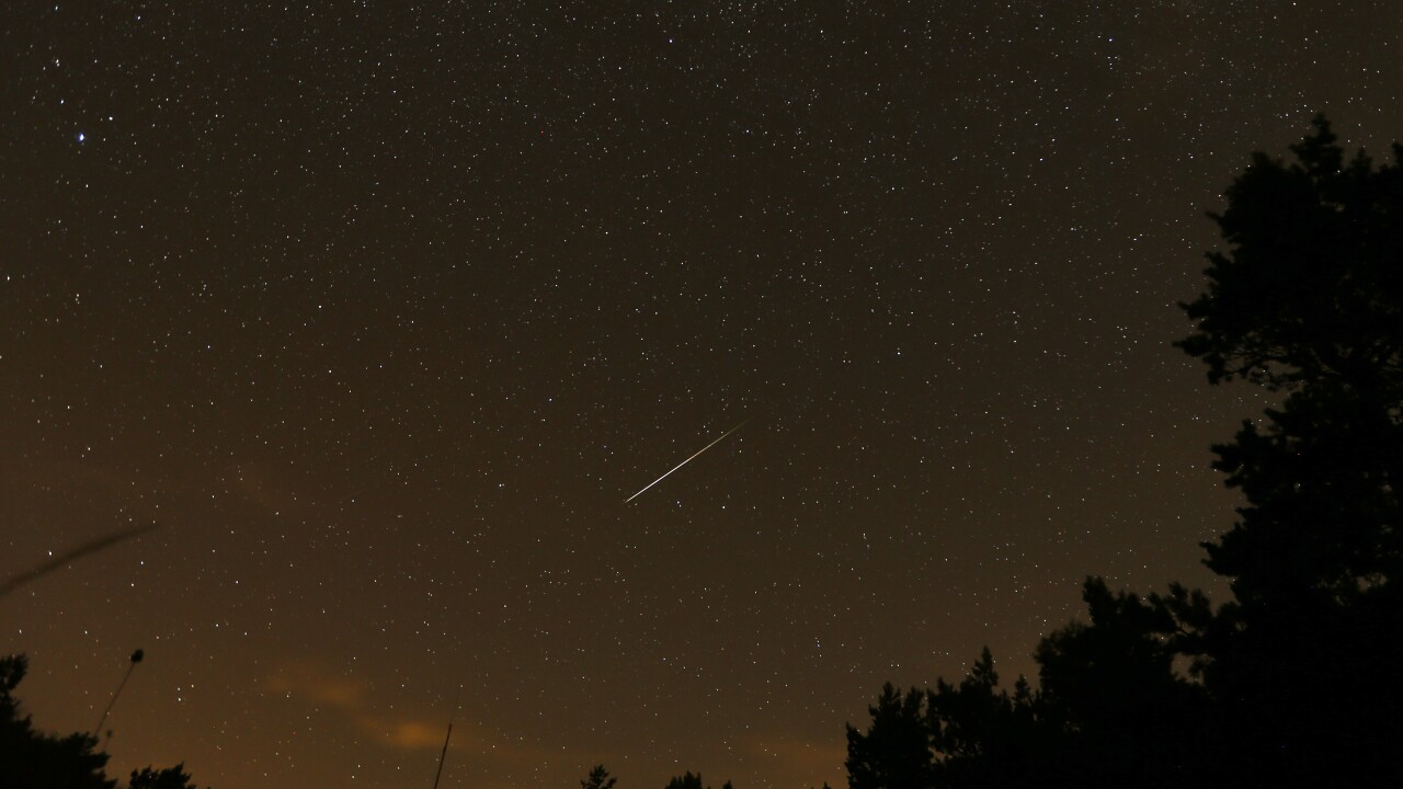 Spain Perseid Meteor Shower