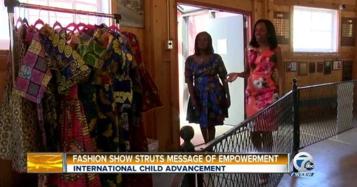 Fashion Show Struts Message Of Empowerment