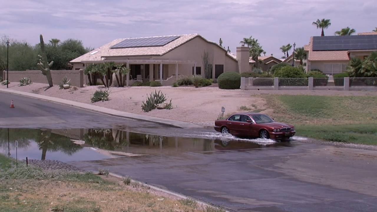 Goodyear water problems
