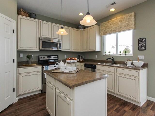 Fischer Homes - The Cumberland - A beautiful kitchen awaits