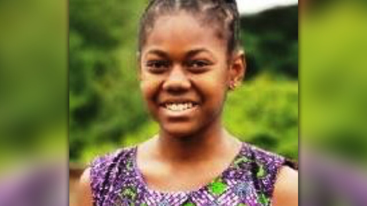 13-year-old girl missing from Baltimore home