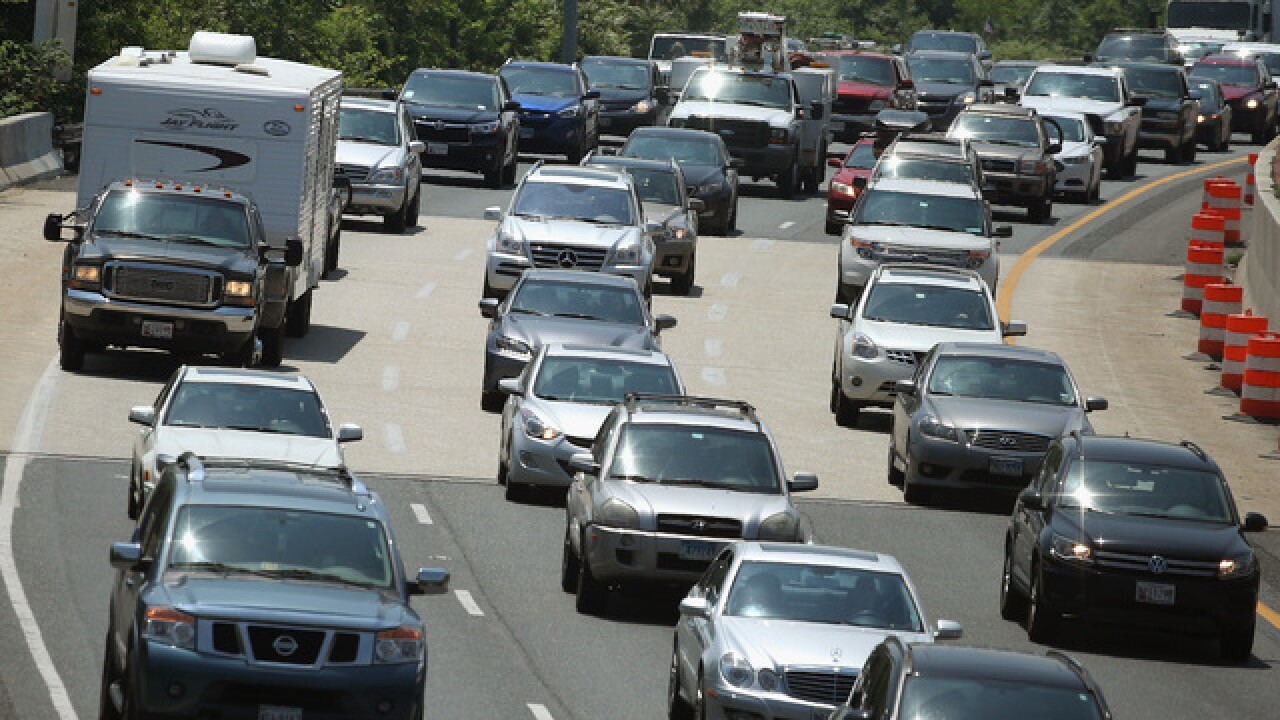 US traffic deaths fell slightly in first half of year