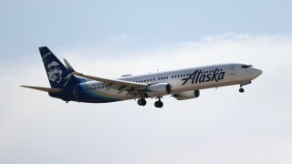 Alaska Airlines airplane
