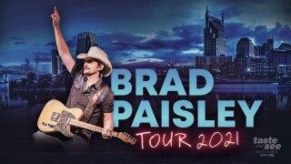 Brad Paisley announces West Palm Beach Concert
