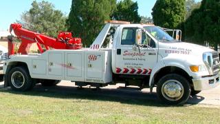 AAA tow truck