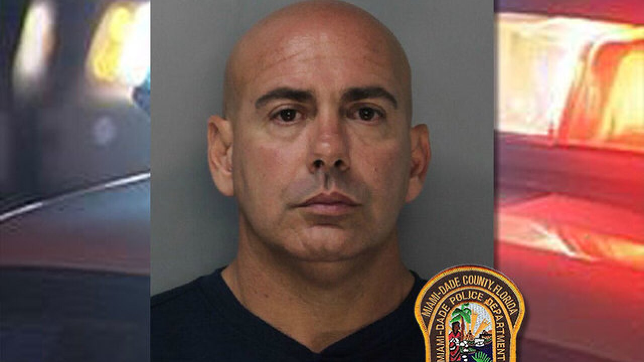 Miami-Dade police lieutenant accused of molesting young girl