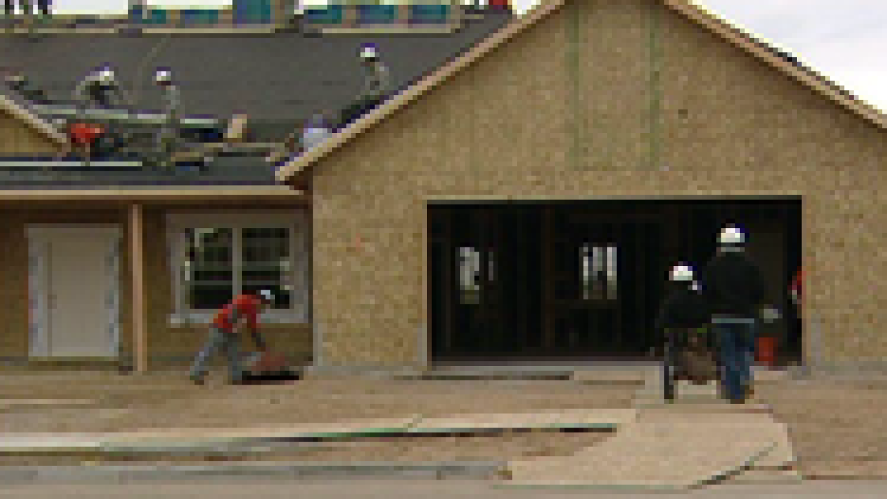 Home for disabled veteran built in 72 hours