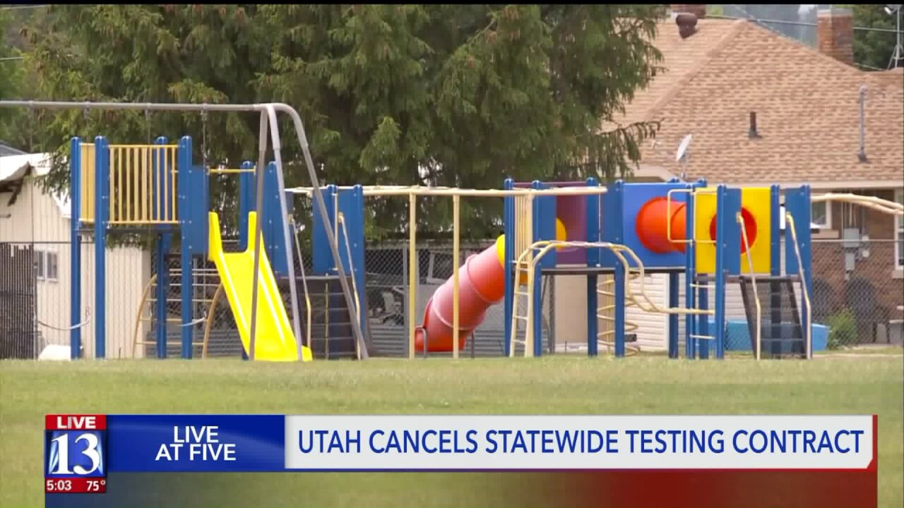 Utah schools cancel RISE testing after numerous issues