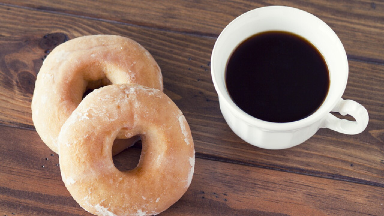 Krispy Kreme free coffee on National Coffee Day