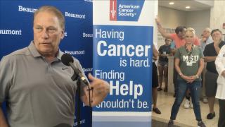 Tom Izzo hospital visit