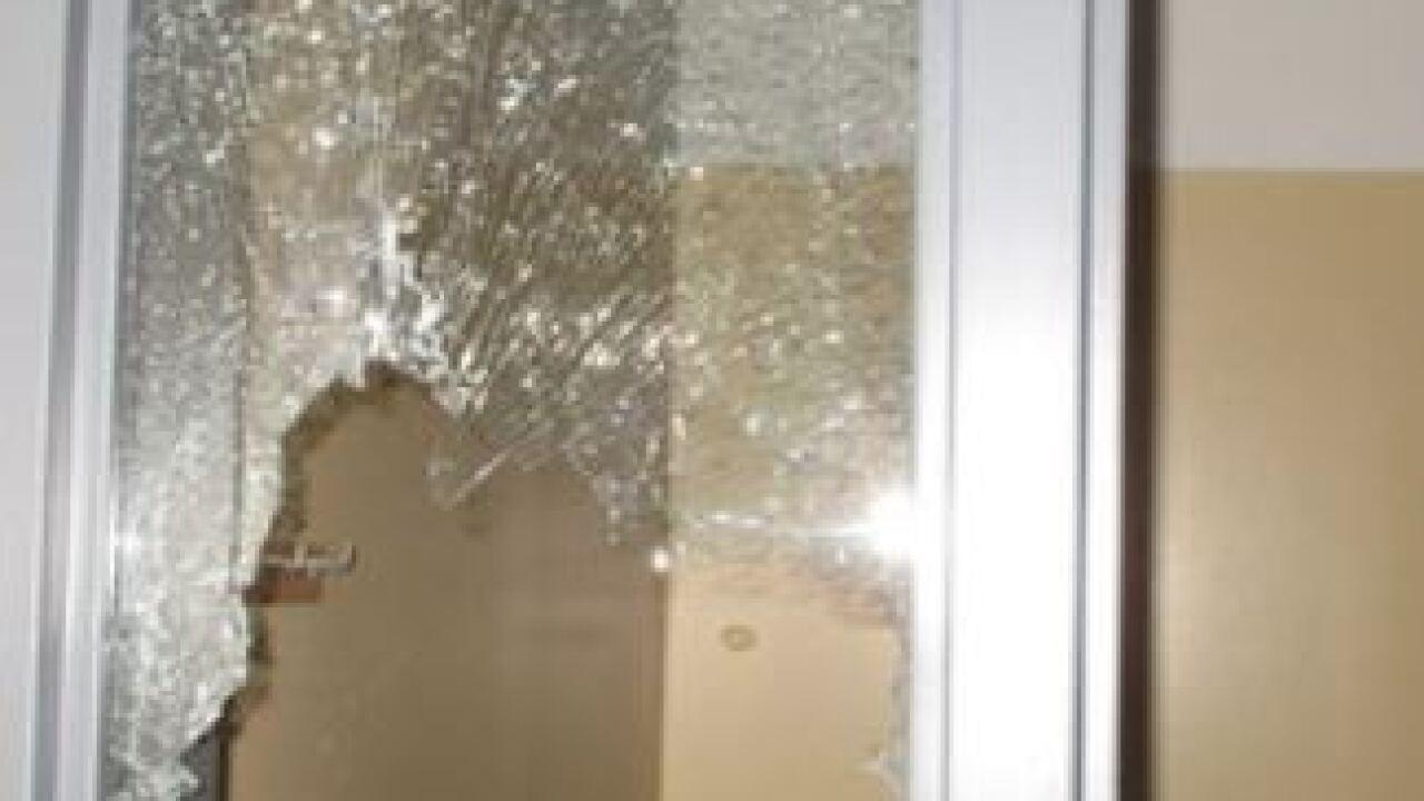 Vandalism at Roper Elementary school at 2323 S Coddington Ave Lincoln