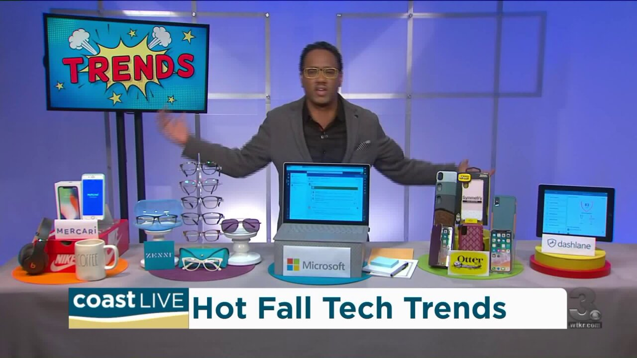 What's trending in tech this fall and winter on Coast Live